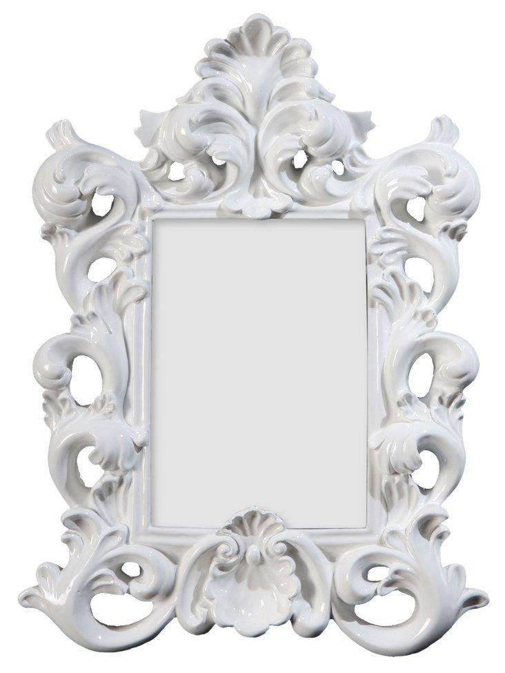 French White Frame