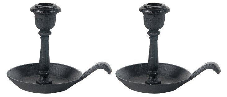 S/2 Old-Fashioned Candleholders