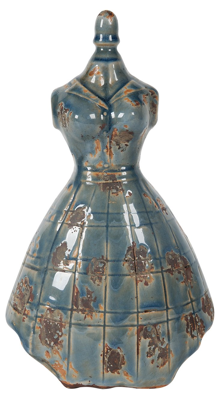 """12"""" Plaid Dress Mannequin"""