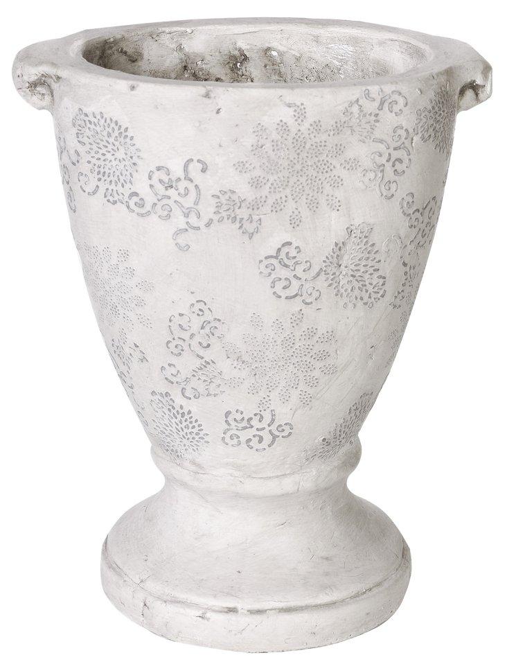 Dessin Floral Vase