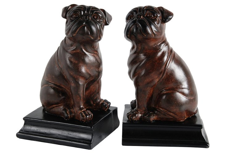 Pair of Bulldog Bookends