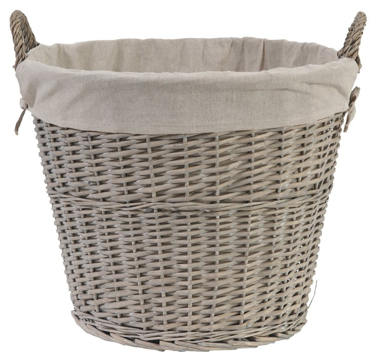 Willow Basket w/ Lining