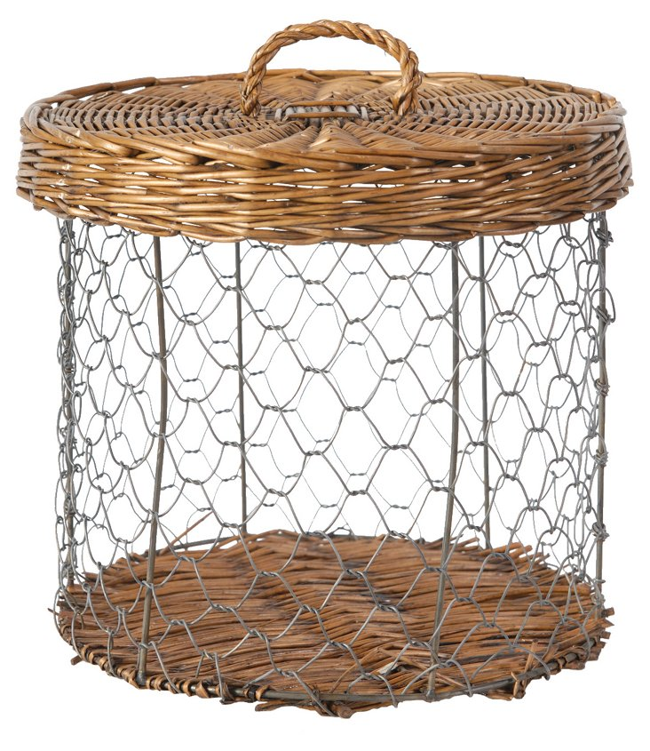 Willow & Wire Basket
