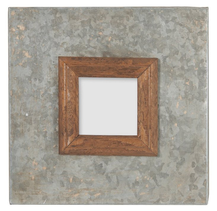 8x8 Wood and Metal Frame