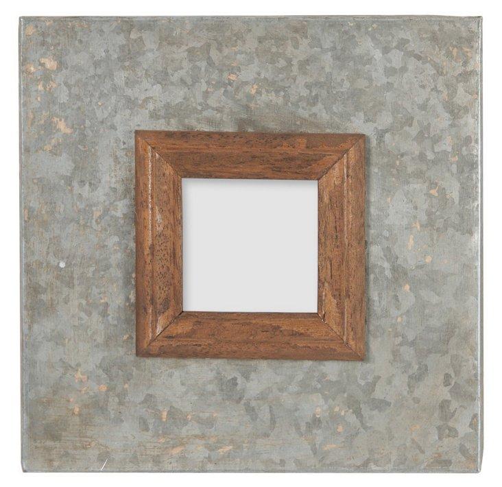8x8 Wood and Metal Frame