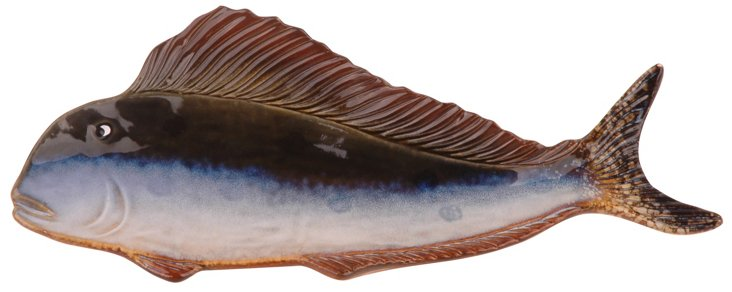 """15"""" Fish Plaque"""