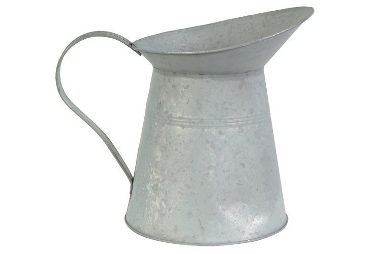 "10"" Flecked Metal Pitcher"