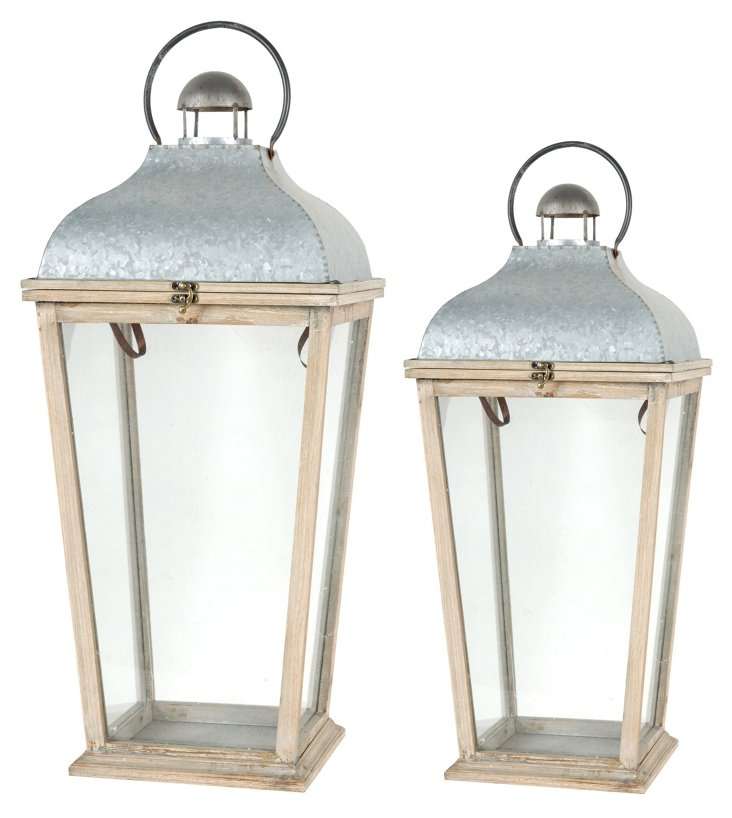 Courtyard Lanterns, Asst. of 2