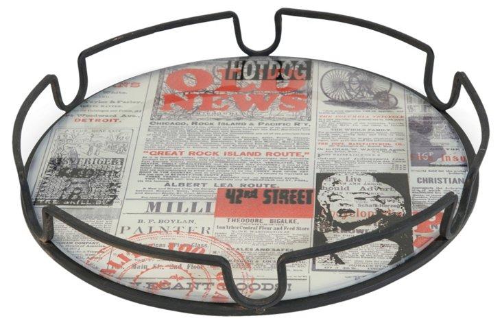 "16"" Newsprint Tray"