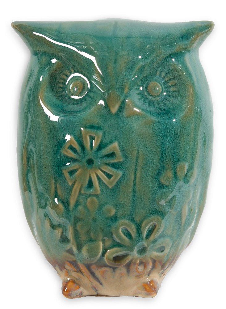 """S/2 6"""" Aqua Owls"""