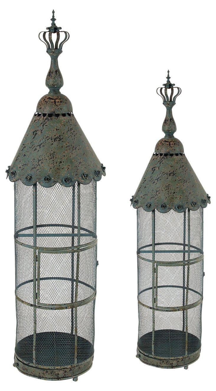 Asst. of 2 Aviary Birdcages, Green