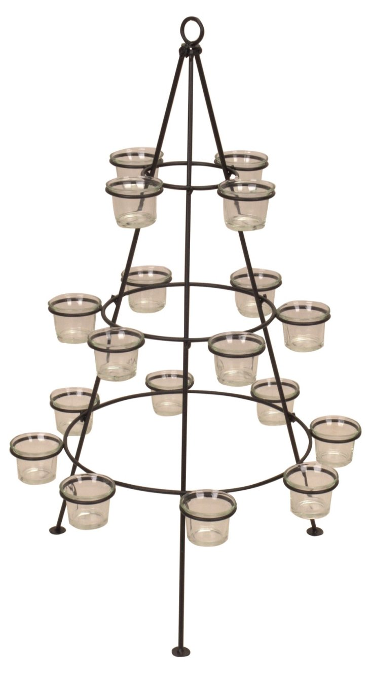 """28"""" 18-Candle Holder"""