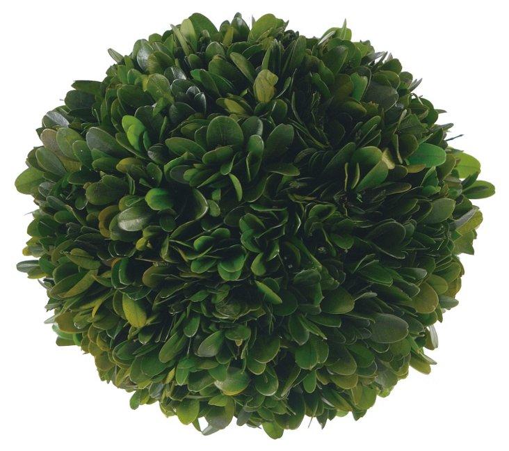 "7"" Boxwood Ball, Green"