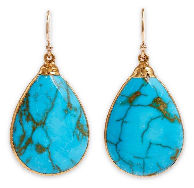 Turquoise Saretha Earrings