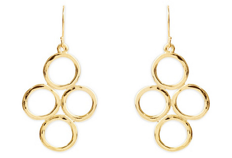 Ojai Four Ring Earrings