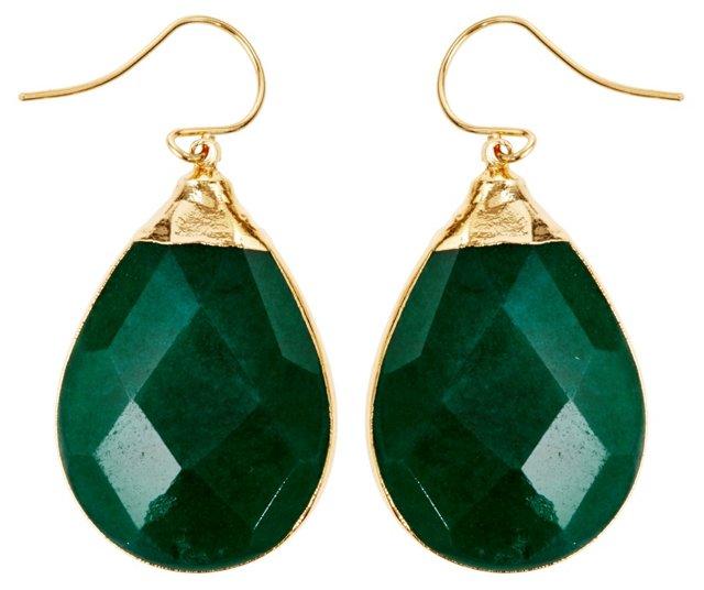 Green Jade Sarotte Earrings