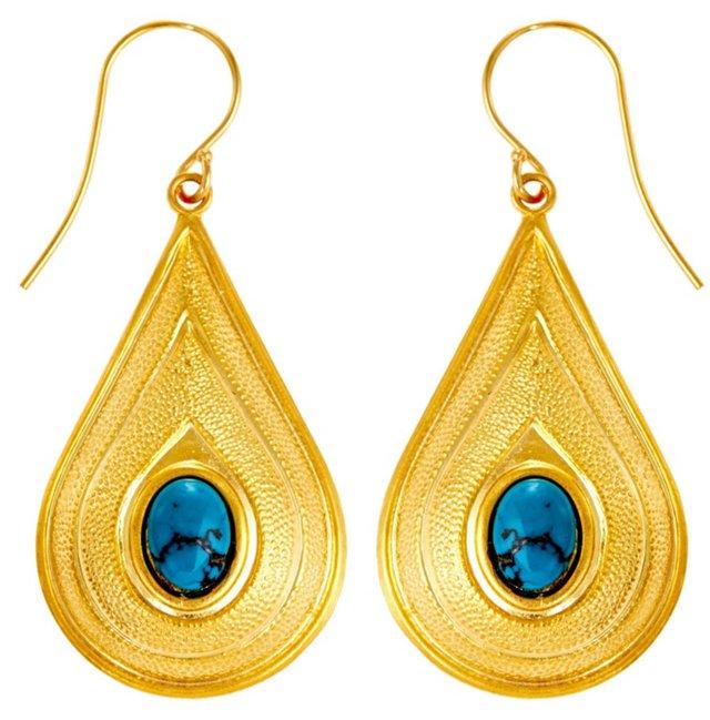 Turquoise Daliah Earrings