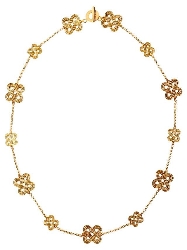 Ari Knot Necklace