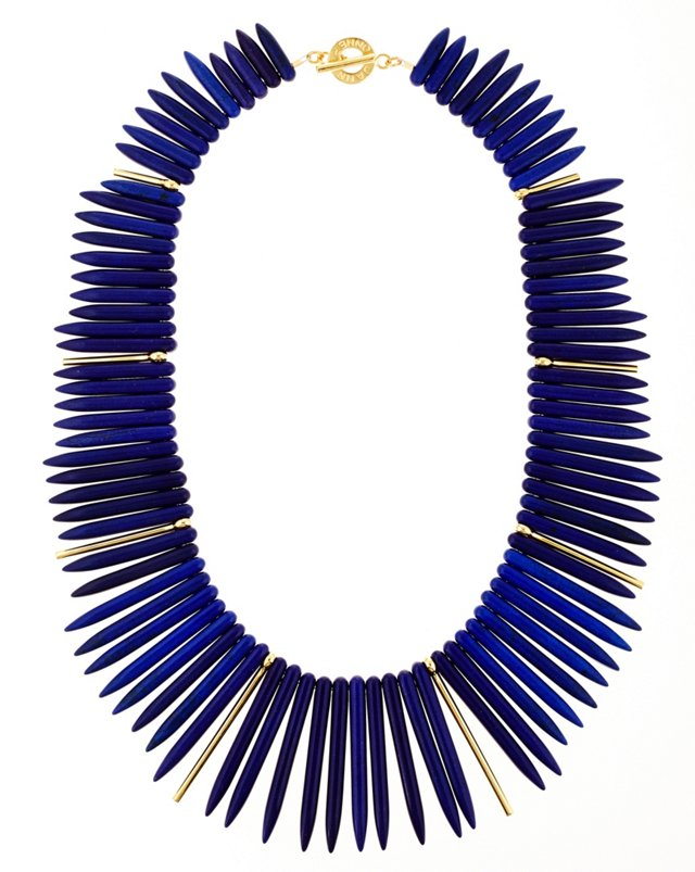 Cobalt Howlite Remy Necklace