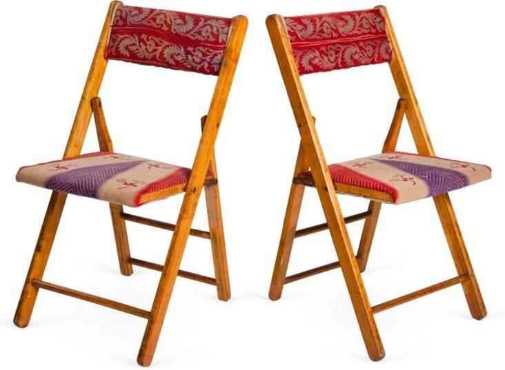 Lucy Chairs, Pair