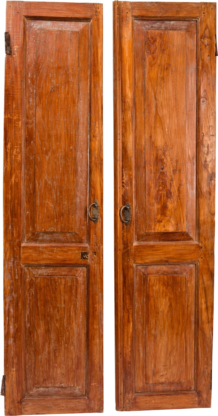 Dutch Doors, Pair