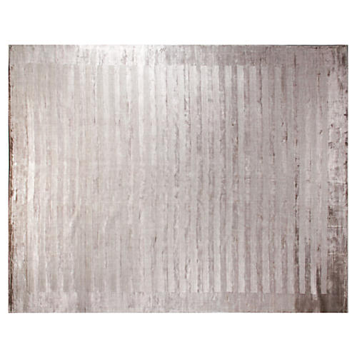 Bellport Rug, Silver