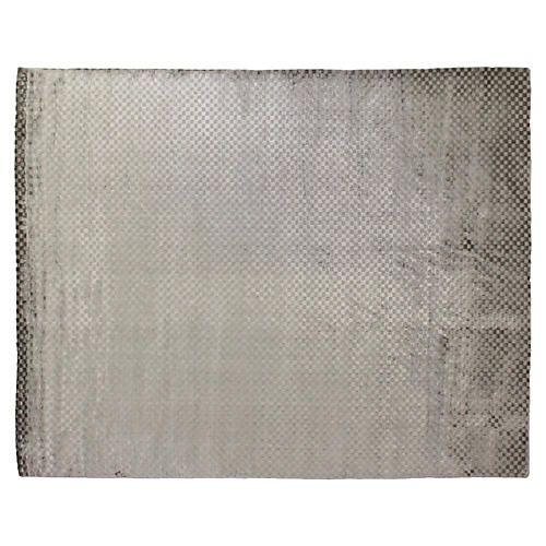 Bubble Rug, Dark Gray