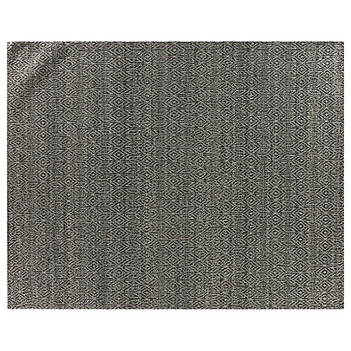 Dinlas Rug, Light Black/White