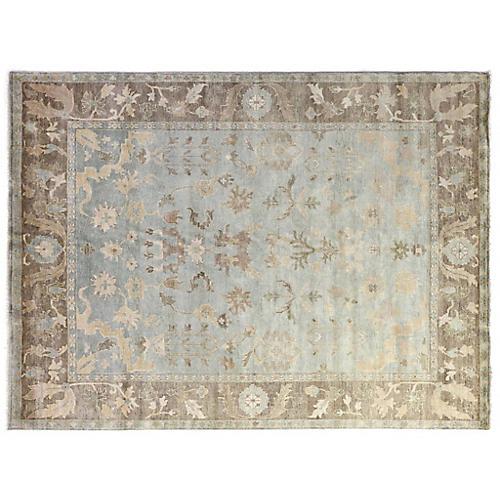 Hanover Wool Rug, Blue/Multi