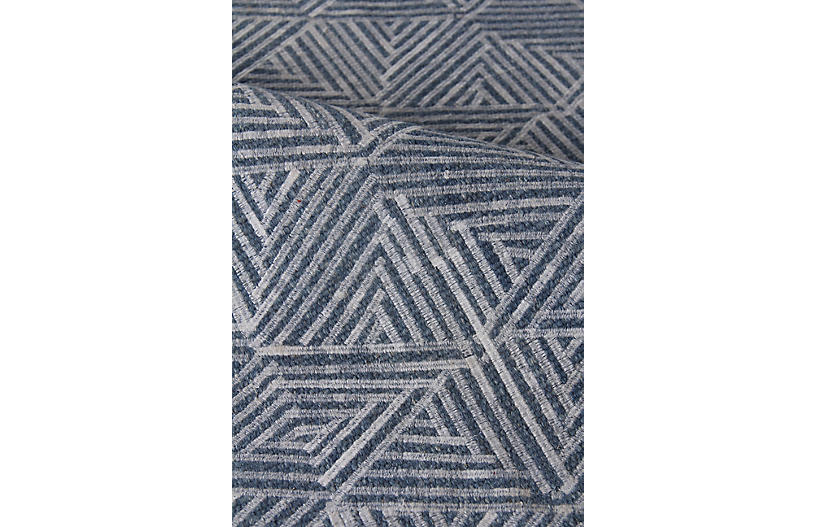 Romario Rug Denim Exquisite Rugs Brands One Kings Lane
