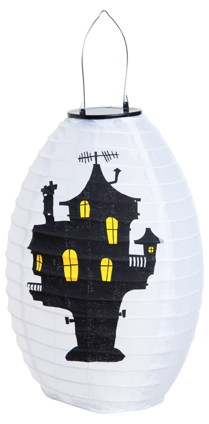 Solar Haunted House Lantern