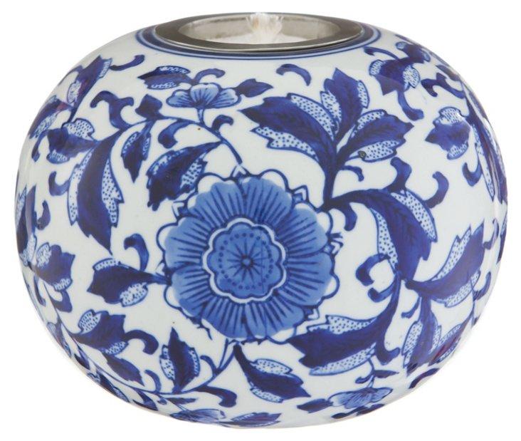 """7"""" Fire Pot, Blue"""