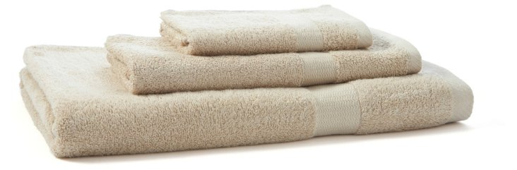 3-Pc Bamboo Towel Set, Au Natural