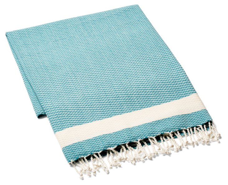 Sultan Cotton Beach Blanket, Teal