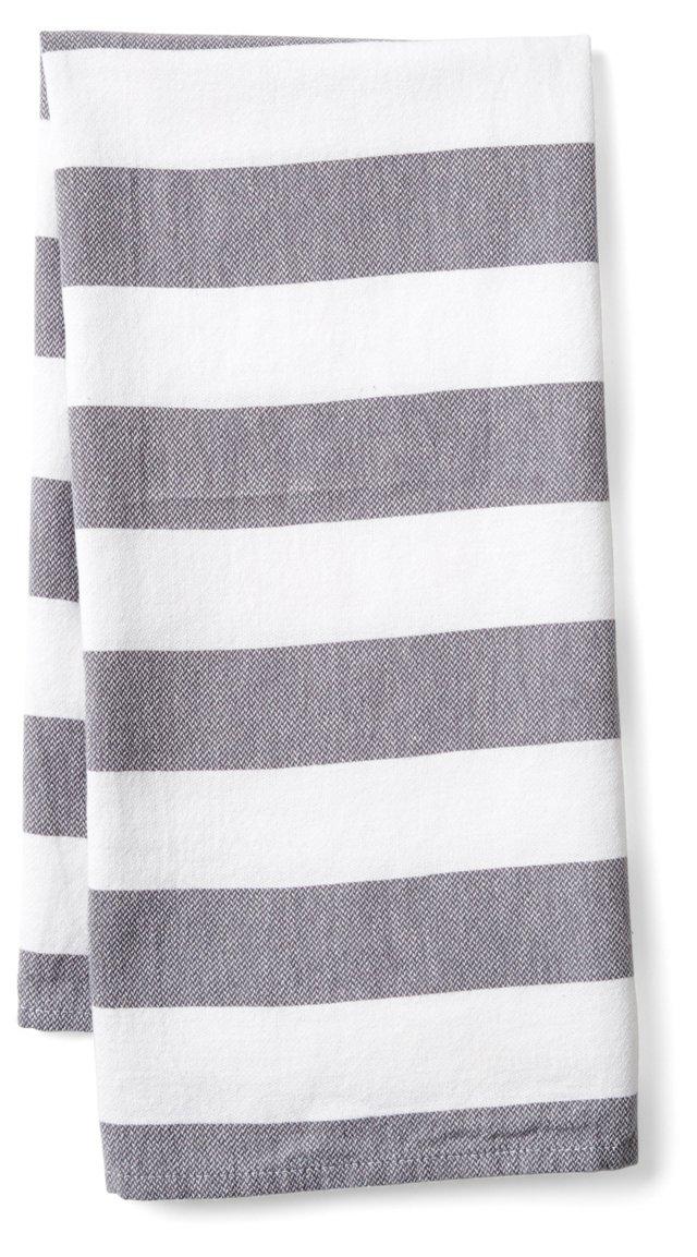 Deck Kitchen Towel, Gray