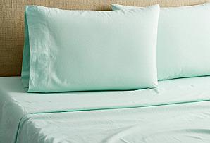 Linen Sheet Set, Green*