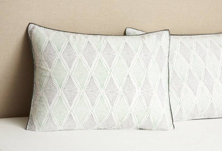 S/2 Julia Standard Pillowcases
