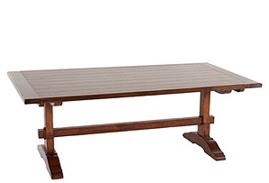 Cambridge Extension Trestle Dining Table
