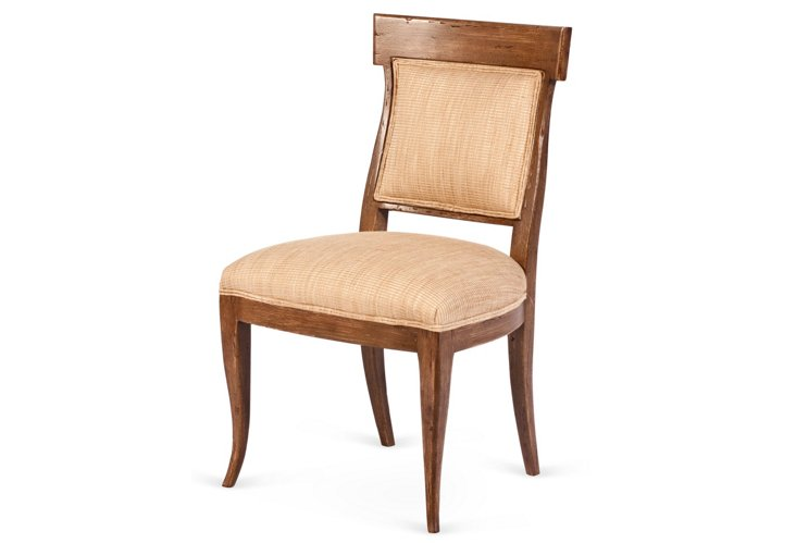 Directorie Side Chair, Oatmeal