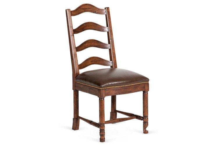 Carlton Side Chair, Chocolate