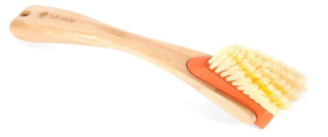 S/2 Laid Back Bamboo Dish Brushes