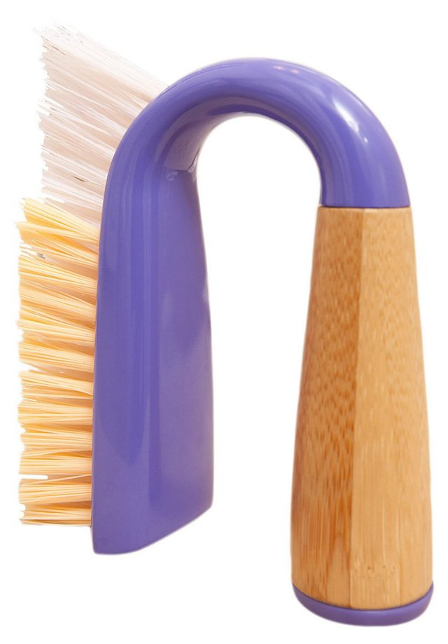 S/2 Grout/Tile Brushes, Purple