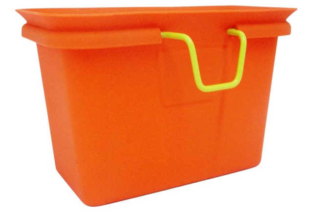 Scrap Collector/Freezer Compost, Orange