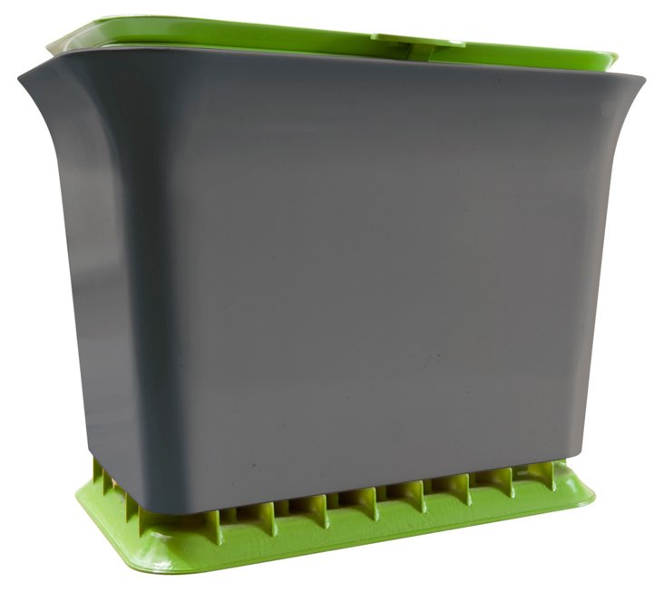Fresh Air Compost Collector, Green/Slate