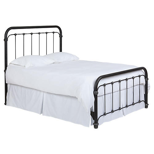 Alyssa Bed, Matte Black