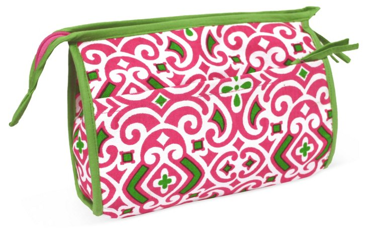 Collins Cosmetic Case, Pink