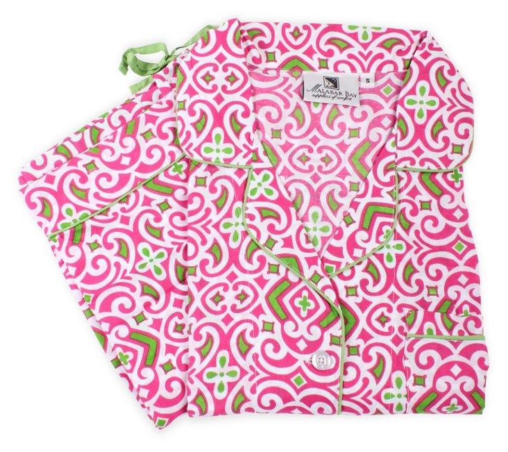 Collins Pink Pajama Set