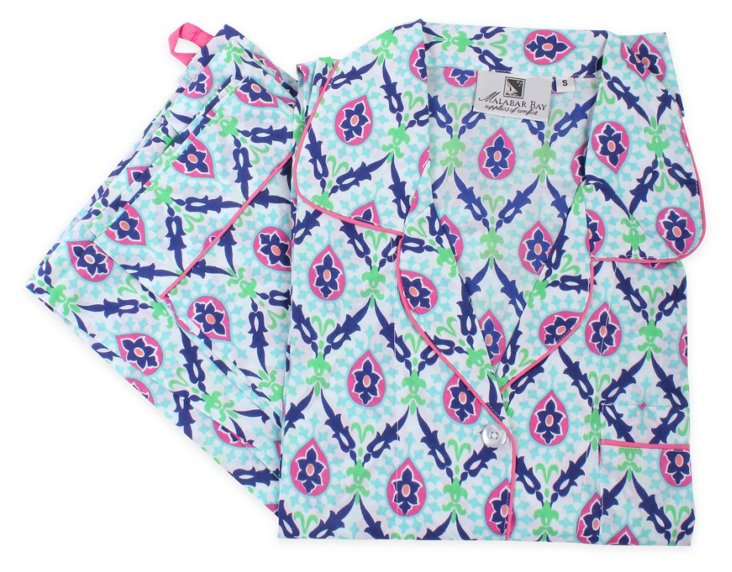 Ambrosia Blue Pajama set L