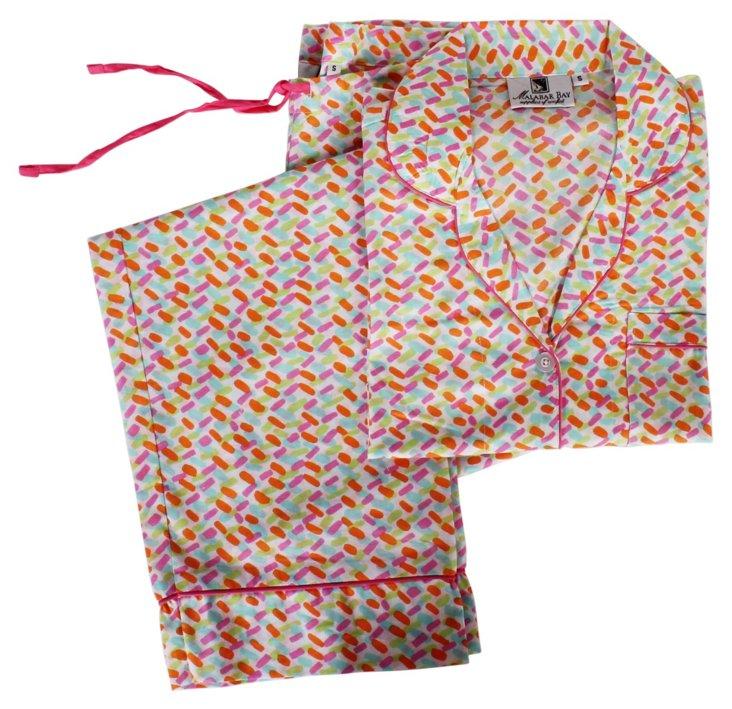 Confetii Multi Color Pajama Set L