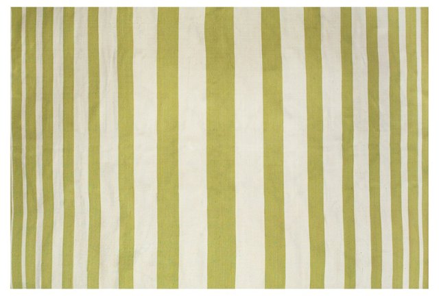 Patsy Outdoor Rug, Green/White
